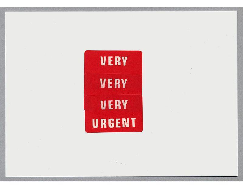 Very urgent